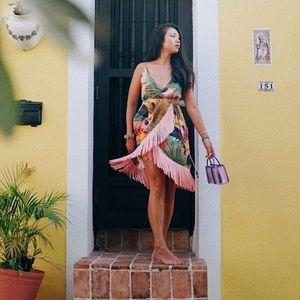 Fringe Tropical Dress from Farm Rio